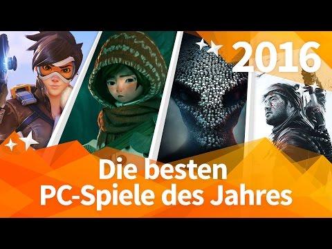 Die BESTEN PC-SPIELE 2016