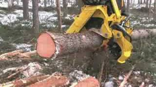 Wood Cutting Machines In Action - This Is A Real Monster