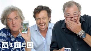 Video Jeremy Clarkson, Richard Hammond & James May Show Us the Last Thing on Their Phones | WIRED MP3, 3GP, MP4, WEBM, AVI, FLV Maret 2018