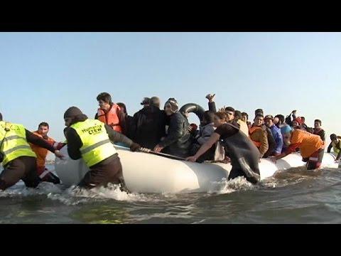 Σώζοντας πρόσφυγες στα νερά του Αιγαίου