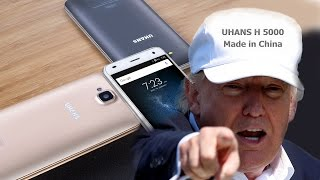 В ближайшее время на рынок выходит UHANS H5000, бюджетный смартфон с 3 ГБ оперативной памяти.  Цену по акции обещают 0,99 доллара!