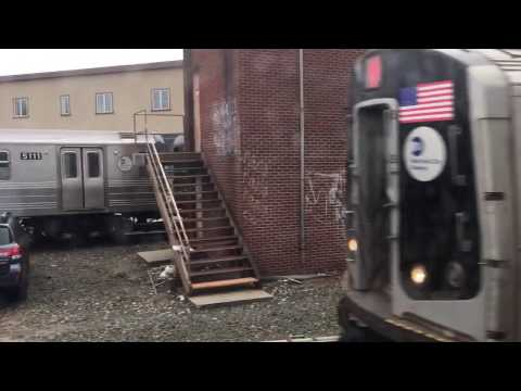On-Board a Coney Island-Stillwell Av bound R160B Siemens N Train from 8th Av to Stillwell Av (видео)