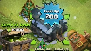 Video Clash of Clans Lets Play: SUPER GEMMING PART 2! TONS OF GEMS - UPGRADING TOWNHALL! MP3, 3GP, MP4, WEBM, AVI, FLV Mei 2017