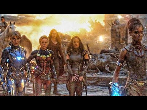Female Avengers Scene Hindi - Avengers Endgame (2019) Movie CLIP HD