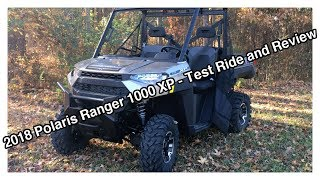 10. 2018 Polaris Ranger 1000XP - First Look / Ride Review