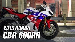 9. 2015 HONDA CBR600RR SPEC