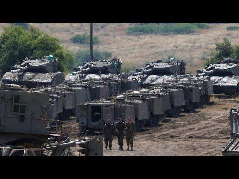 Kämpfe auf den Golanhöhen: Konflikt zwischen Israel und ...