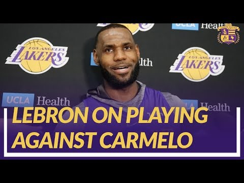 Video: Lakers Nation Interview: LeBron On His Matchup With Carmelo and If He Recruited Him to Come to LA