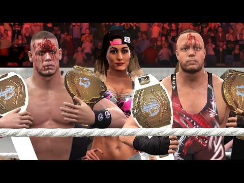 WWE 2K17 Story - John Cena Gets Personal - Fully Loaded 🚧 - Ep.43