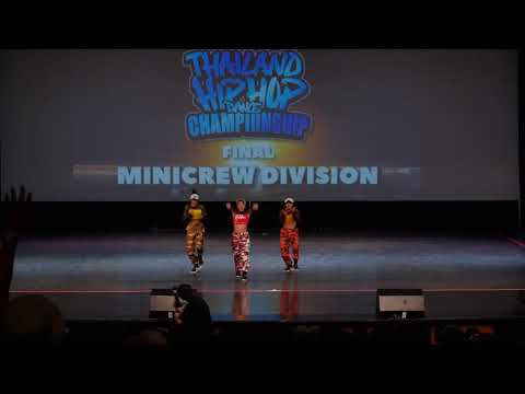 3rd Place : THE BOSS / MiniCrew Division / Final at HHI Thailand 2019