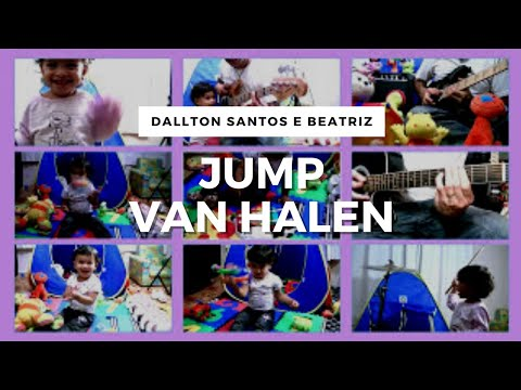 Amazing Video ▶ Baby Playing Van Halen with Toys and Instruments (1 Year Old)