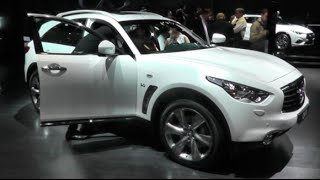 Infiniti QX70 2016 In detail review walkaround Interior Exterior