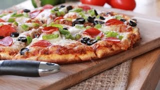Quick n Easy Homemade Pizza Recipe for easy cooking