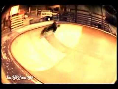 ChrisM At penn skate hittin rails (promo for burchtour98)