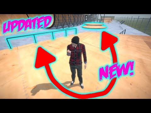 MAP FINALLY UPDATED! New Rail and Manual Pads   Pipe by BMX Streets Gameplay (видео)