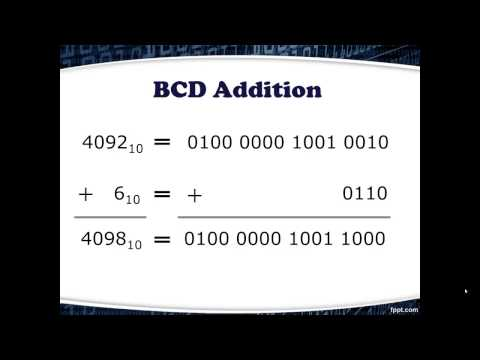 how to obtain bcd code