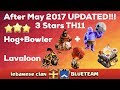 Clash Of Clan 🌟 After May 2017 UPDATE!! 3 Stars TH11 With Hog+Bowler & Lavaloon+Bowler #60 🌟