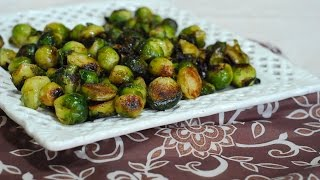 This video demonstrates how to make Roasted Brussels Sprouts. A healthy, and delicious vegan vegetable side dish. Ingredient List: 1 1/2 lbs. brussels sprouts- ...