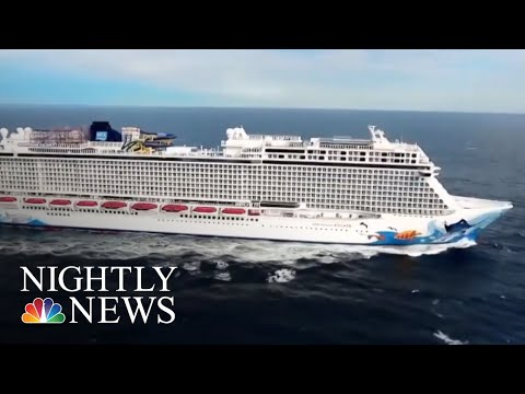 Cruise Ship Passenger Survives 10 Hours At Sea After Falling Overboard | NBC Nightly News (видео)