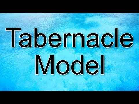 Tabernacle Model - Timnah - Biblical Israel Ministries & Tours