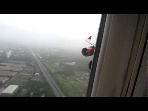 Video Air India B747-400 Landing at Mumbai, India - Window View download in MP3, 3GP, MP4, WEBM, AVI, FLV January 2017
