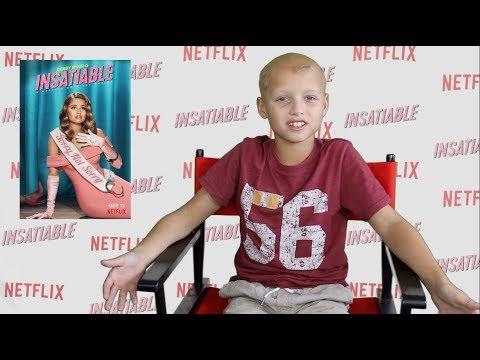 He IS ON TV with Debby Ryan!! Insatiable Season 2 on Netflix Kid Actor!