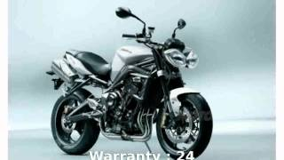 8. 2008 Triumph Street Triple 675 Features