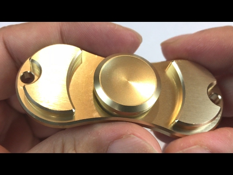 Fidget Spinner High Speed Stainless Steel Bearing ADHD Focus Anxiety Relief Toy review and giveaway