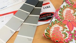 Color Consultation & Paint: Craft Room Makeover
