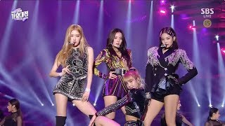 Video BLACKPINK - 'SOLO' + '뚜두뚜두(DDU-DU DDU-DU)' + 'FOREVER YOUNG' in 2018 SBS Gayodaejun MP3, 3GP, MP4, WEBM, AVI, FLV Januari 2019