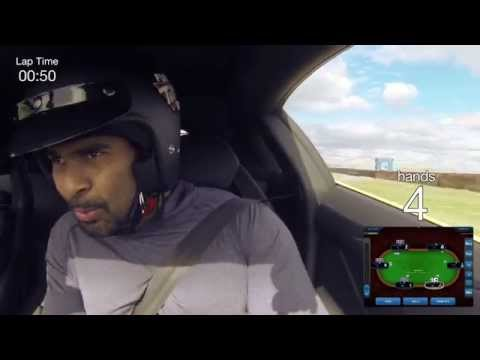 Former Heavyweight Champion David Haye, Poker And A Lamborghini