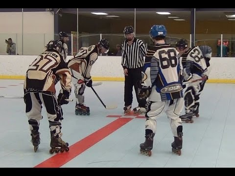 Storm vs. Desert Eagles – Period 1 (3/6/14) Roller Hockey Dangles Dekes Moves Skills Goals HD