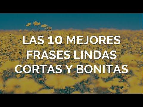 Las 10 Mejores Frases Lindas Cortas y Bonitas