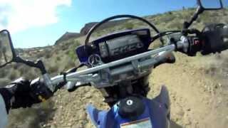8. Riding in the Las Vegas Desert - 2006 Suzuki DRZ 400