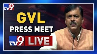 BJP GVL Narasimha Rao Press Meet LIVE || Vijayawada