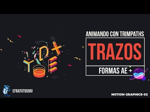 [Motion Graphics-02] Animando Trazos & Formas After Effects Tutorial