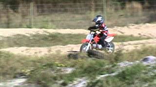 9. Keith on his Honda CRF 50 12-31-2011 Thunder Cross.wmv