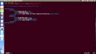 Part 2: Hadoop Core Installation On Ubuntu 12.10