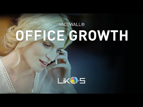 VACUWALL - Let your office grow with your business