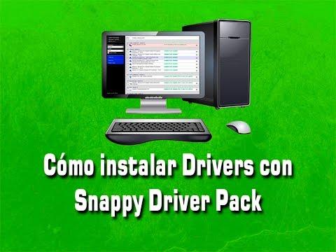 Cómo instalar Drivers en Laptops o PC con Snappy Driver pack