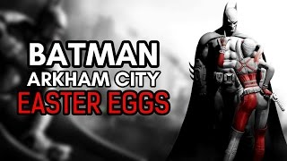 """I've been gradually going through Batman: Return to Arkham in between other games and thought I'd go through it's Easter Eggs, I may even redo Arkham Knight but anyway…Hope you enjoy.Subscribe and Hit the Notification Bell to Keep up to Date with When I Upload!►Subscribe to me here!: http://www.youtube.com/subscription_c…►Follow me on Instagram: https://www.instagram.com/o_knightz_o/ ►Check out Other Easter Egg Here!: https://www.youtube.com/playlist?list=PLud5z0-p8XHghQADyX6zBUkw12elgapjuBatman: Arkham City is a 2011 action-adventure video game developed by Rocksteady Studios and released by Warner Bros. Interactive Entertainment for the PlayStation 3 and Xbox 360 video game consoles, and Microsoft Windows. Based on the DC Comics superhero Batman, it is the sequel to the 2009 video game Batman: Arkham Asylum and the second installment in the Batman: Arkham series.Written by veteran Batman writer Paul Dini with Paul Crocker and Sefton Hill, Arkham City is based on the franchise's long-running comic book mythos. In the game's main storyline, Batman is incarcerated in Arkham City, a huge new super-prison enclosing the decaying urban slums of fictional Gotham City. He must uncover the secret behind the sinister scheme, """"Protocol 10"""", orchestrated by the facility's warden, Hugo Strange. The game's leading characters are predominantly voiced by actors from the DC Animated Universe, with Kevin Conroy and Mark Hamill reprising their roles as Batman and the Joker, respectively. The game is presented from the third-person perspective with a primary focus on Batman's combat and stealth abilities, detective skills, and gadgets that can be used in both combat and exploration. Arkham City expands Batman's arsenal of gadgets and combat attacks and offers a more open world structure, allowing the player to complete side missions away from the primary storyline.Music:Dark CitybyAudionautixis licensed under aCreative Commons Attributionlicence (https://creativecommons.org/licenses/b"""