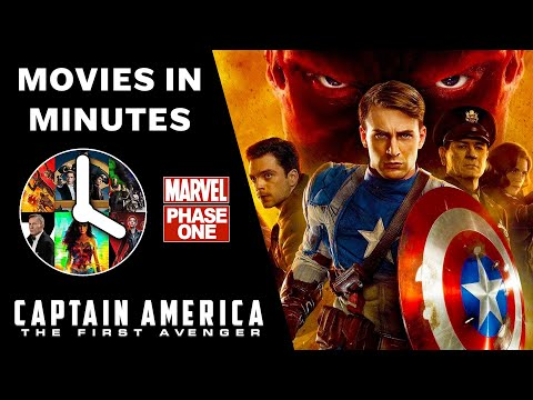 CAPTAIN AMERICA: THE FIRST AVENGER in 4 minutes (Marvel Phase One Recap)