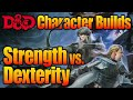 Who Makes the Best Warrior in DnD- Strength Vs Dexterity Fighter Character Builds| D&D Discussions