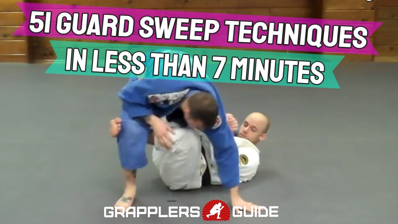 51 Guard Sweeps in 7 Minutes