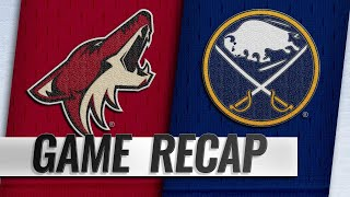Sabres send Coyotes to fourth straight loss by NHL