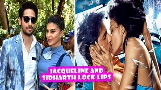 Jacqueline And Sidharth Lock Lips