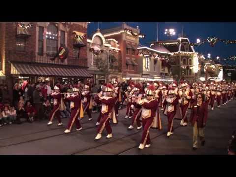 USC Trojan Marching Band -  You're Gonna Go Far Kid - Disneyland 2009