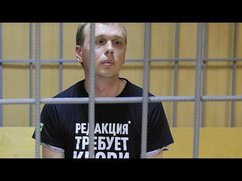 Russland: Zwei Monate Hausarrest für Iwan Golunow