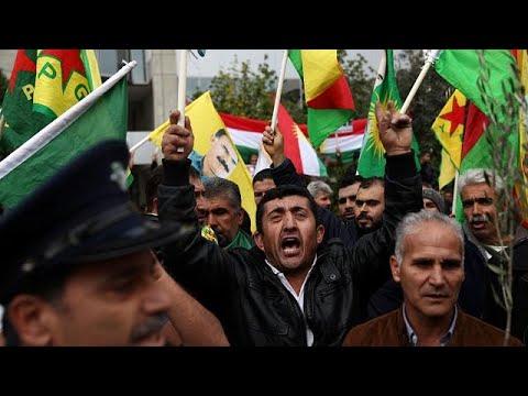 Διαδήλωση Κούρδων στη Λευκωσία για την Άφριν