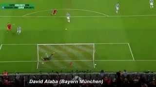 David Alaba trifft nach 26 Sekunden gegen Juventus